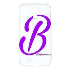 Belicious World  b  Purple Samsung Galaxy S4 I9500/i9505 Hardshell Case by beliciousworld