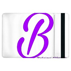 Belicious World  b  Blue Ipad Air Flip by beliciousworld
