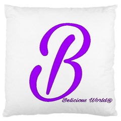 Belicious World  b  Blue Standard Flano Cushion Case (one Side) by beliciousworld