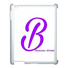 Belicious World  b  Coral Apple Ipad 3/4 Case (white)