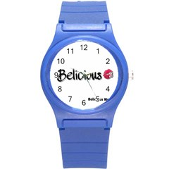 Belicious World Logo Round Plastic Sport Watch (s) by beliciousworld