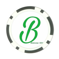 Belicious World  b  In Green Poker Chip Card Guard (10 Pack) by beliciousworld