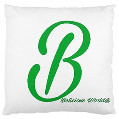 Belicious World  b  In Green Standard Flano Cushion Case (one Side) by beliciousworld