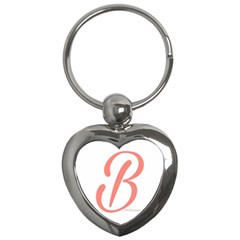 Belicious World  b  In Coral Key Chains (heart)  by beliciousworld