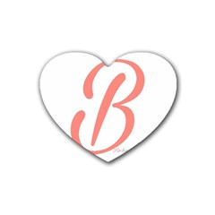 Belicious World  b  In Coral Rubber Coaster (heart)  by beliciousworld