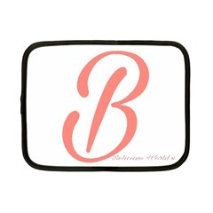 Belicious World  b  In Coral Netbook Case (small)  by beliciousworld