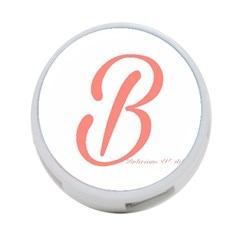 Belicious World  b  In Coral 4 Port Usb Hub (two Sides)  by beliciousworld