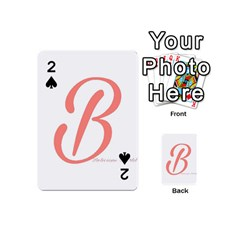 Belicious World  b  In Coral Playing Cards 54 (mini)  by beliciousworld