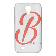 Belicious World  b  In Coral Samsung Galaxy Mega 6 3  I9200 Hardshell Case by beliciousworld