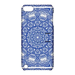 Blue Mandala Art Pattern Apple Ipod Touch 5 Hardshell Case With Stand by paulaoliveiradesign