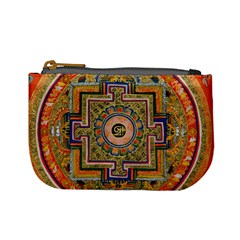 Asian Art Mandala Colorful Tibet Pattern Mini Coin Purses