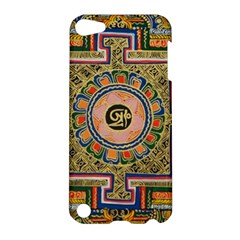 Asian Art Mandala Colorful Tibet Pattern Apple Ipod Touch 5 Hardshell Case by paulaoliveiradesign