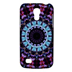 Kaleidoscope Mandala Purple Pattern Art Galaxy S4 Mini by paulaoliveiradesign