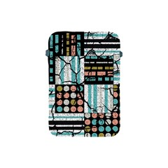 Distressed Pattern Apple Ipad Mini Protective Soft Cases by linceazul