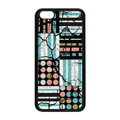 Distressed Pattern Apple Iphone 5c Seamless Case (black) by linceazul