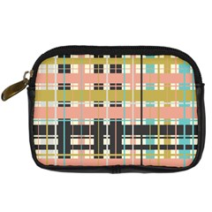 Plaid Pattern Digital Camera Cases by linceazul