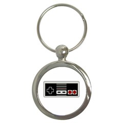 Video Game Controller 80s Key Chains (round)