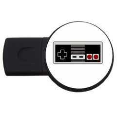 Video Game Controller 80s Usb Flash Drive Round (2 Gb)