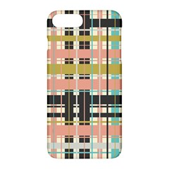 Plaid Pattern Apple Iphone 7 Plus Hardshell Case by linceazul
