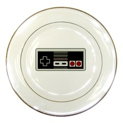 Video Game Controller 80s Porcelain Plates by Valentinaart