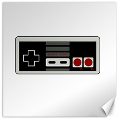 Video Game Controller 80s Canvas 16  X 16   by Valentinaart