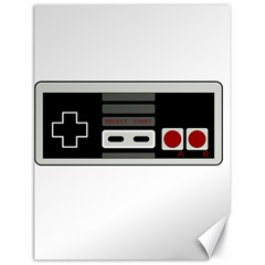 Video Game Controller 80s Canvas 18  X 24   by Valentinaart