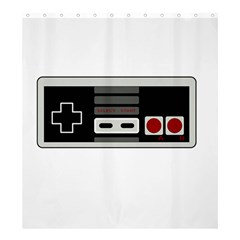 Video Game Controller 80s Shower Curtain 66  X 72  (large)  by Valentinaart