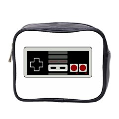 Video Game Controller 80s Mini Toiletries Bag 2 Side by Valentinaart