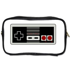Video Game Controller 80s Toiletries Bags by Valentinaart