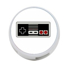 Video Game Controller 80s 4 Port Usb Hub (one Side) by Valentinaart