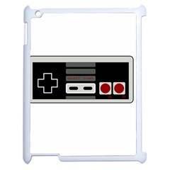 Video Game Controller 80s Apple Ipad 2 Case (white) by Valentinaart