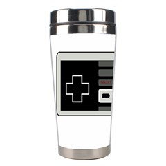 Video Game Controller 80s Stainless Steel Travel Tumblers by Valentinaart