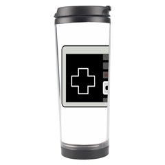 Video Game Controller 80s Travel Tumbler by Valentinaart