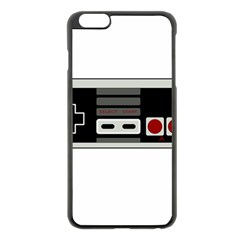 Video Game Controller 80s Apple Iphone 6 Plus/6s Plus Black Enamel Case by Valentinaart