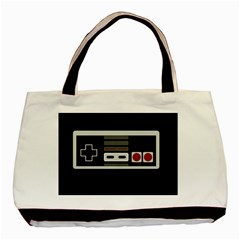 Video Game Controller 80s Basic Tote Bag by Valentinaart