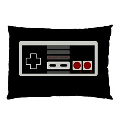 Video Game Controller 80s Pillow Case by Valentinaart