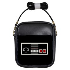 Video Game Controller 80s Girls Sling Bags