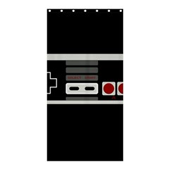 Video Game Controller 80s Shower Curtain 36  X 72  (stall)  by Valentinaart
