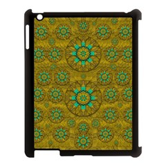 Sunshine And Flowers In Life Pop Art Apple Ipad 3/4 Case (black) by pepitasart