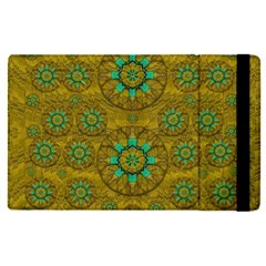 Sunshine And Flowers In Life Pop Art Apple Ipad Pro 9 7   Flip Case
