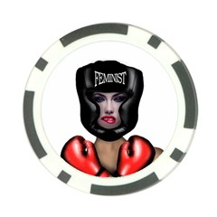 Feminist Poker Chip Card Guard (10 Pack) by Valentinaart