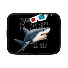 The Shark Movie Netbook Case (small)  by Valentinaart