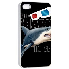 The Shark Movie Apple Iphone 4/4s Seamless Case (white)
