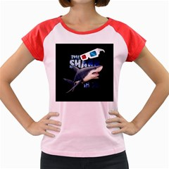 The Shark Movie Women s Cap Sleeve T Shirt by Valentinaart