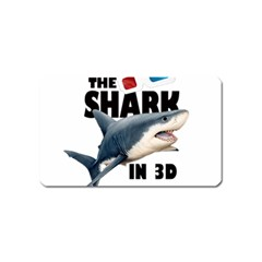 The Shark Movie Magnet (name Card) by Valentinaart