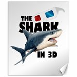 The Shark Movie Canvas 11  x 14   14 x11 Canvas - 1
