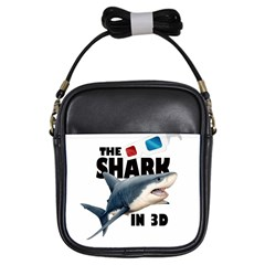 The Shark Movie Girls Sling Bags
