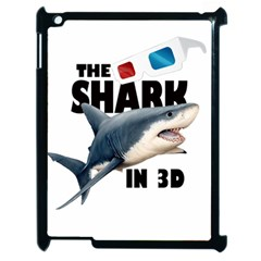 The Shark Movie Apple Ipad 2 Case (black) by Valentinaart
