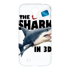 The Shark Movie Samsung Galaxy S4 I9500/i9505 Hardshell Case by Valentinaart