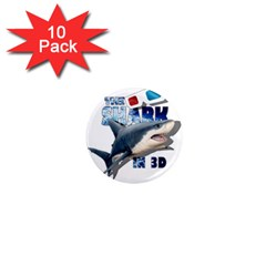 The Shark Movie 1  Mini Magnet (10 Pack)  by Valentinaart